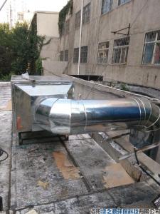 瀍河区党校家属院油烟净化设备安装案例
